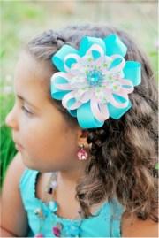 diy hair clips and bows