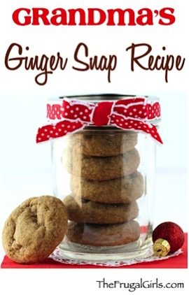 Easy Ginger Snap Recipe