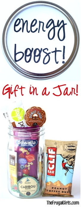 Energy Boost Gift in a Jar! {Ultimate Energy Gift}