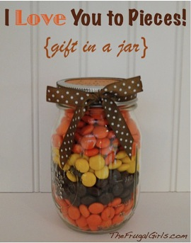 I Love You to Pieces Gift in a Jar