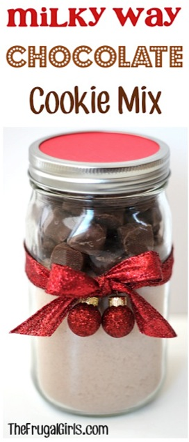 Milky Way Chocolate Cookie Mix in a Jar