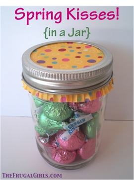 Spring Kisses in a Jar