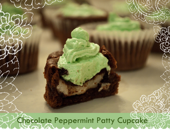 York Peppermint Patty Cupcake Recipe
