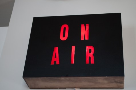 DIY Retro 'On Air' Box