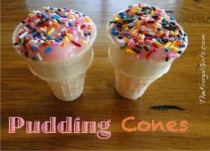 Pudding Cones