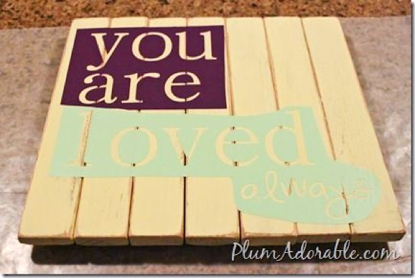 DIY Faux Pallet Boards Easy