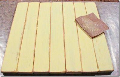 DIY Pallet Board
