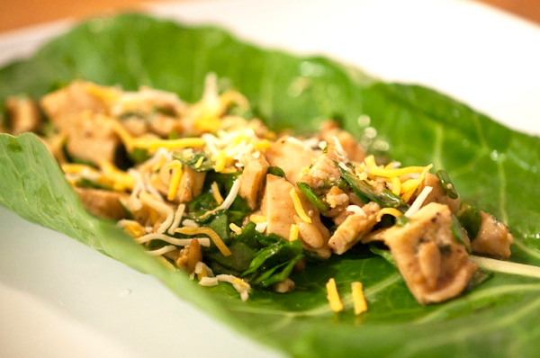 Low Carb Chicken Wraps Recipe
