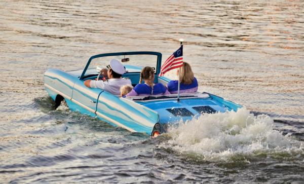 Disney Springs Amphibious Car