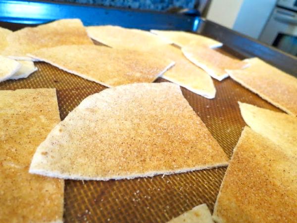 Cinnamon Sugar Tortilla Chips Recipe