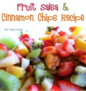 Fruit Salsa and Cinnamon Chips Recipe