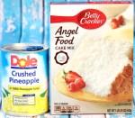 Pineapple Angel Food Cake Recipe Easy