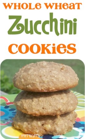 Whole Wheat Zucchini Cookies Recipe