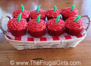 Apple Frosted Cupcakes Recipe