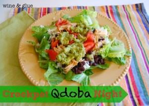 Crockpot Copyat Qdoba Recipe