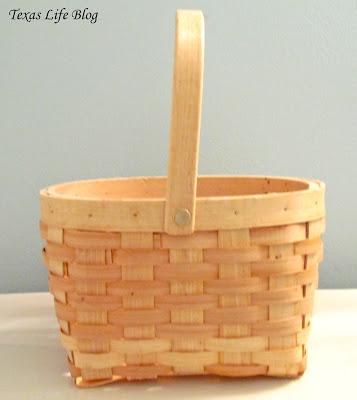 Easy Wedding Basket Craft