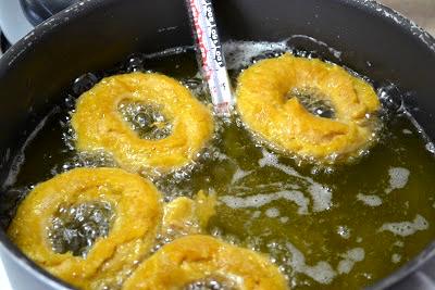 Fried Pumpkin Doughnuts Recipe