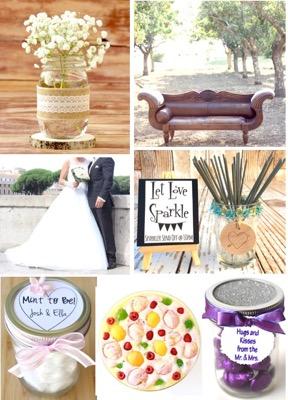 101 Wedding Freebies and Budget DIY Wedding Ideas