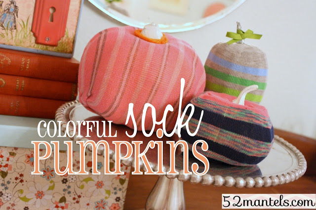 Sock Pumpkin Crafts Ideas