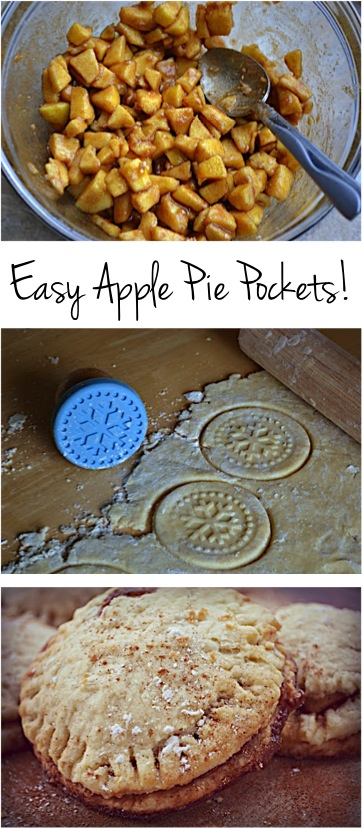 Easy Apple Pie Pockets Recipe at TheFrugalGirls.com