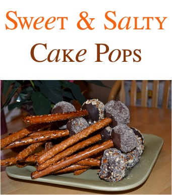 Sweet and Salty Cake Pops