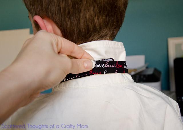 Bow Tie with Velcro