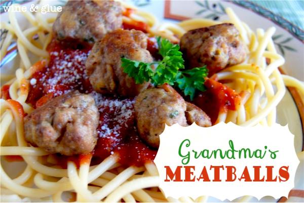 Italian Meatballs Recipe with Beef and Pork