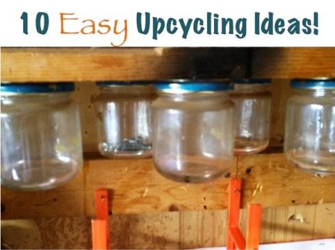 Easy Upcycling Ideas