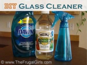 DIY Glass-Cleaner