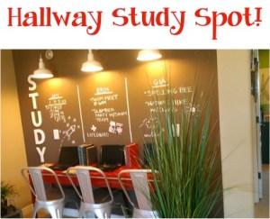 Hallway Study Spot