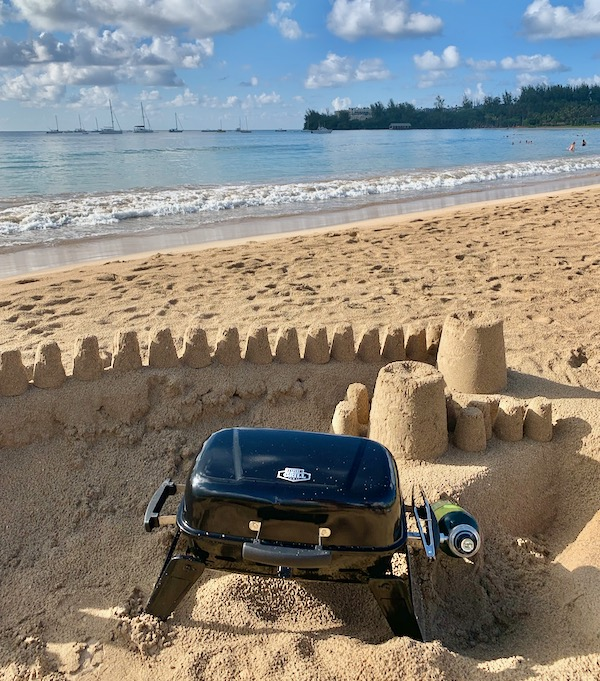 How to Grill on the Beach