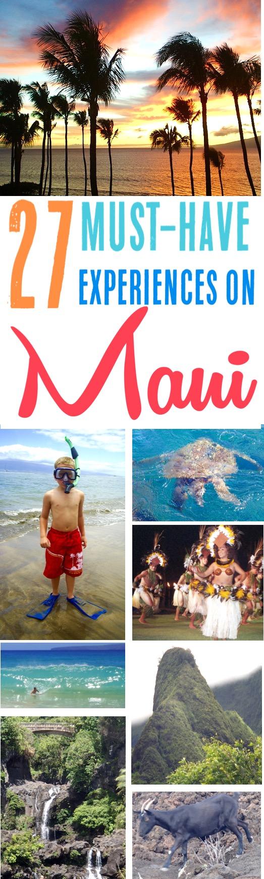 Maui Hawaii Vacation Things to Do in Maui