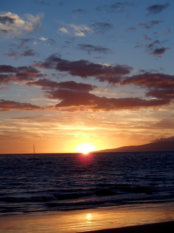 Maui Sunset Pictures