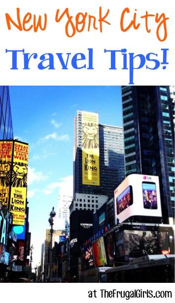 Best New York City Travel Tips at TheFrugalGirls.com