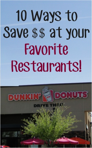 Restaurant Coupons and Deals