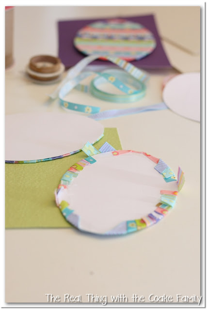 Easter Ribbon Craft Project
