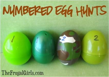 Numbered Egg Hunts