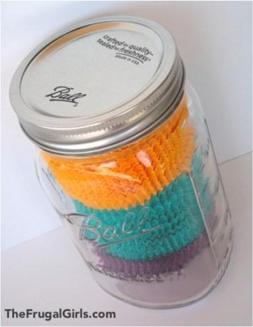 Organizing Cupcake Liners