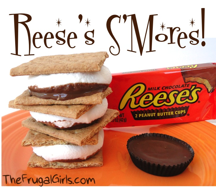 Reese's S'Mores Recipe from TheFrugalGirls.com