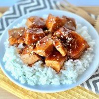 Crockpot Orange Chicken Recipe! {Just 4 Ingredients}