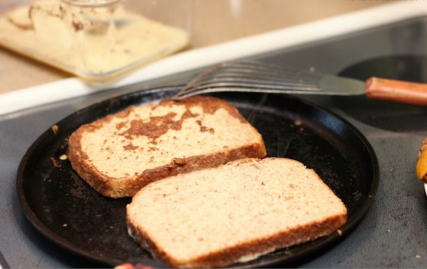 French Toast With Melted Cheese Recipe