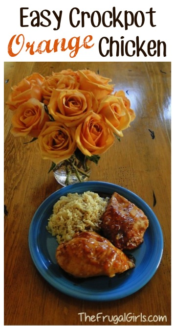 Orange Chicken Slow Cooker Recipes