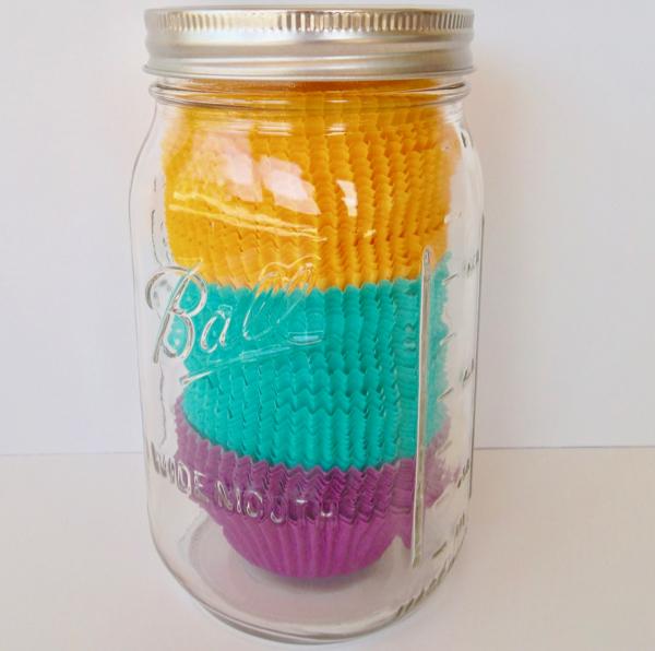 Organizing Cupcake Liners Tip