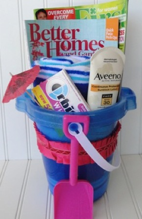 Summer in a Bucket Gift Idea
