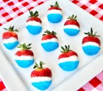4th of July Strawberries Easy