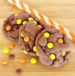 Reese's Pieces Chocolate Cake Mix Cookies Recipe