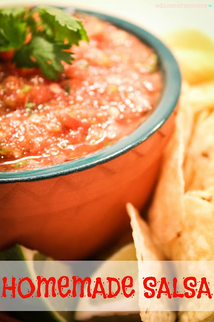Hot Homemade Salsa Recipe