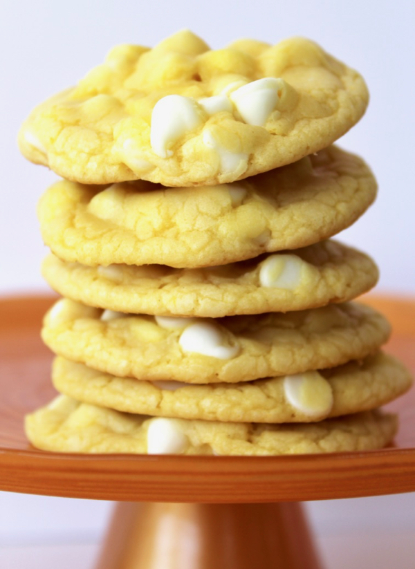 Lemon White Chocolate Cookies Recipe