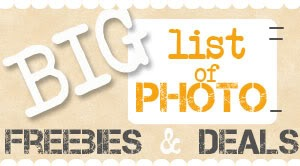 Photo Freebies and Deals