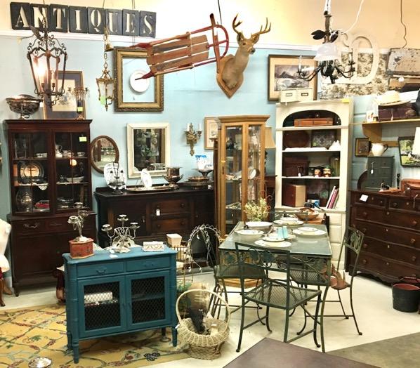 Dallas Texas Antique Shopping